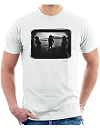 Lawrence Watson Official Photography - Aswad The Message Cover On Beach Men's T-Shirt