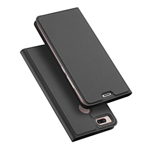 Xiaomi Mi 5X / Xiaomi Mi A1 Hülle, DUX DUCIS Skin Pro Series Ultra Slim Layered Dandy, Ständer, Magnetverschluss,TPU Bumper, Full Body Schutz für Xiaomi Mi 5X / Xiaomi Mi A1 (Grau)
