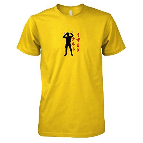 TEXLAB - Leaf Village Ninja - Herren T-Shirt, Größe XXL, (Kostüm Leafs Fan)