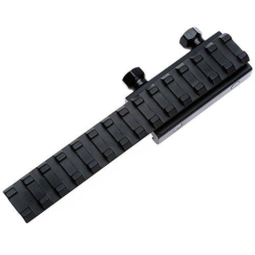145mm Flat Top Portée longue étendue mont base Riser Weaver Rail Picatinny 20mm