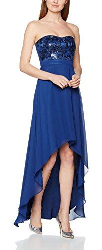 Vera Mont VM Damen Party-und Abendkleider 2522/5000 Blau (Waterfall 8067)