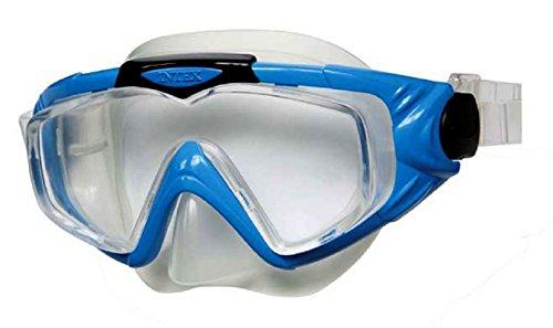 Taucherbrille Tauchermaske Schwimmbrille Schwimmmaske Brille zum Schwimmen Brille zum Tauchen / Kinder-Schwimmbrille / Kinderschwimmbrille / Kinder Schwimmbrille / Jugend-Schwimmbrille / Jugendschwimmbrille / Jugend Schwimmbrille / Chlorbrille / (Tauchermaske blau)