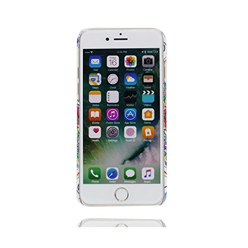 iPhone 7 Plus Custodia, Ultra sottil TPU Cover Shell Semplice Progettato per iPhone 7 Plus Copertura (5.5 pollici), iPhone 7 Plus Case - Totem / Skin color 5