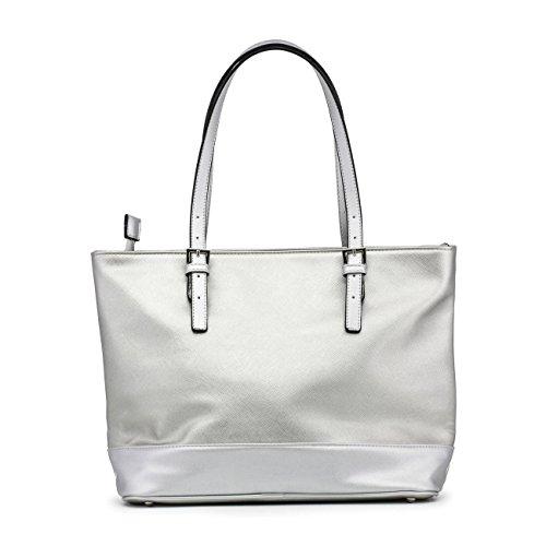 Renato Balestra BLUVERTIGO-RB18S-117-1 Shopping bag Donna Grigio