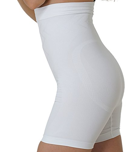UnsichtBra Guaina contenitiva con gamba super modellante per donna Bianco