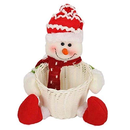 Sucrerie de Noël panier Comptoir ameublement articles Doll Décorations de Noël A