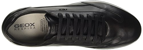 Geox U Clemet A, Sneakers Basses Homme Noir (Blackc9999)