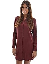 robe Edc By Esprit blouse dress rouge