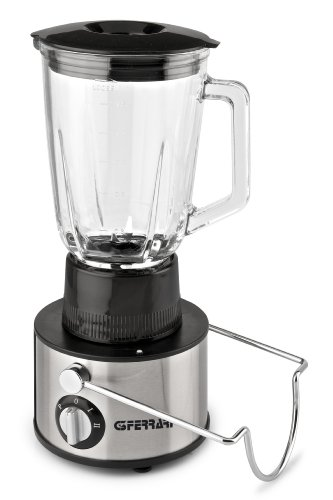 G3Ferrari G20014 400 Watts Tutta Natura 2-in-1 Juice Extractor and Food Blender, Black/ Metal