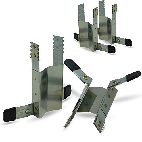 Klemmsicherung Rollladen-Sicherung Fenstersicherung, 4 Stück (2 Paar)