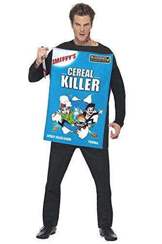 Cereal Killer Halloween - Adult Halloween Fancy Dress Cereal Killer