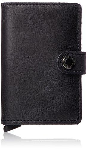 Secrid Carteras Mini carteras Estuche tarjetas personales 6,5 cm Cuero negro - Marca: Secrid - Serie: carteras - Medidas externas (LxAxA): 6.5cm x 10.2cm x 2.1cm - Peso en kg: 0.10kg - Volumen en litros aprox.: 0-10