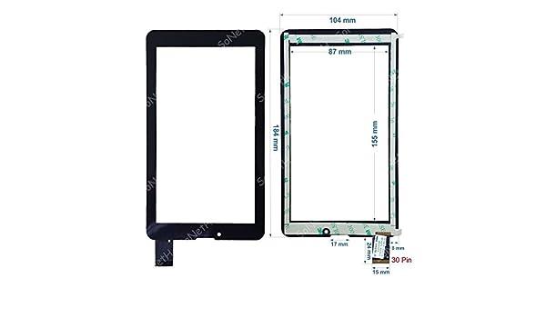 "New Touch screen Panel Digitizer For 7/"" Mediacom M-MPI7B3G SmartPad i7 3G"