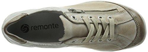 Remonte R3417 Damen Sneakers Beige (Taupe/Steel/ice / 42)