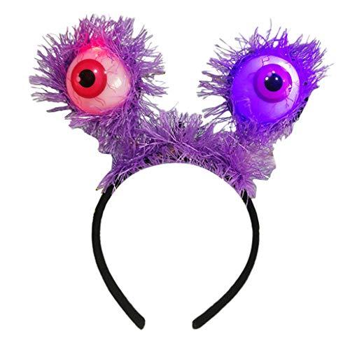 Große Augapfel Kostüm - Baoblaze Leuchtende LED Haarreif Haarschmuck Dekorative