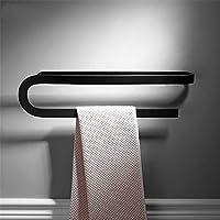 Comparador de precios Taicoen Nordic black space aluminum personality simple white creative towel rack towel rack bathroom hardware rack wall hanging - precios baratos