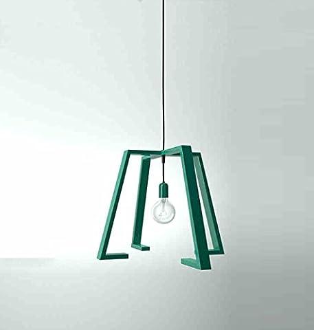CAIJUN Suspensions Luminaires Scandinave Loft moderne et minimaliste Art Iron Cross Iron Restaurant Bar Salon Salle à manger Lustre (lampes à économie d'énergie LED) lumières décoratives ( conception : A1 )