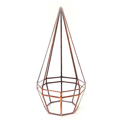 octagonal-pyramid-geometric-glass-terrarium-handmade-glass-planter-modern-planter-for-indoor-gardeni