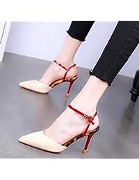 GTVERNH Scarpe da donna/Moda/Con Una Sola Testa E Sottile Di Scarpe, Un Paio Di Scarpe Alla…