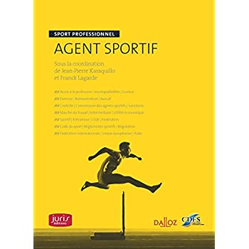 Agent sportif. Sport professionnel