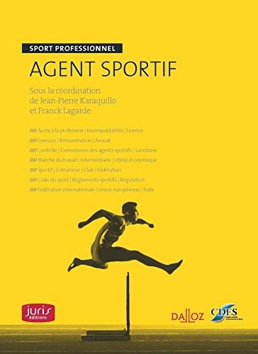 Agent sportif. Sport professionnel par CDES