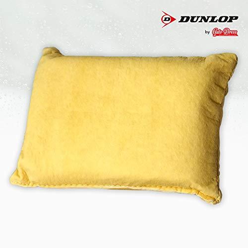 Auto-Dress Lederschwamm Dunlop - Klare Scheibe - Kein Kondensieren für Cockpit Scheiben