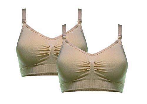 Warum ein nahtloser Still-BH von HERZMUTTER?               Der nahtlose extra weiche Still-BH unterstützt die empfindliche Brust sowohl in der Schwangerschaft, als auch während der Stillzeit.        Der gepolsterte Umstands-Still-BH ist der ideal...