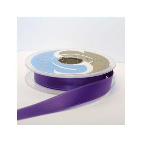 Satin-hutband (Hutband Satin-Band, 15 mm: je 2 x 2 m, Violett/Mauve)