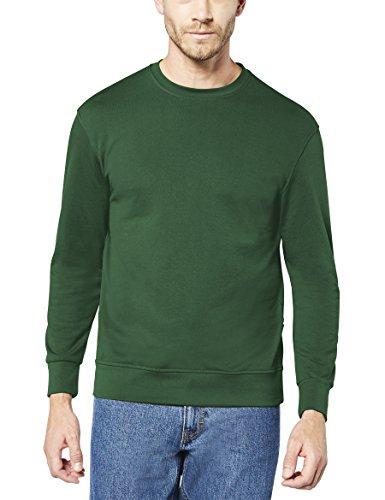 Preisvergleich Produktbild EXPAND 1305900-GR Herren Arbeits Sweatshirt, 072 Tannengruen, 6XL