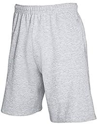 Fruit Of The Loom Herren Jogging-Shorts / Shorts, leicht L,Grau