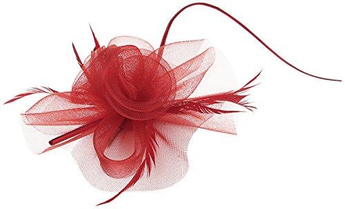 la-vogue-barrette-pince-a-cheveux-fleur-voile-clip-femme-fille-serre-tete-rouge
