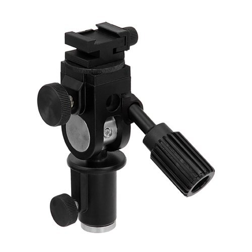 Tilt-swivel Stand (Fotodiox Ultra Heavy Duty Flash Umbrella Bracket with Swivel/Tilt Head, Mountable to Light Stand and Tripod-Fits Yongnuo YN565EX, YN560, YN468, YN467, YN465, YN462 and More)
