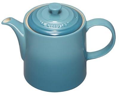 Le Creuset Stoneware Classic Teapot, 1.3 L - Cassis