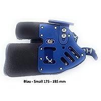 Bogenschießen Fingertab aus Leder mit Ankerplatte, Rechtshand Einstellbare Fingerschutz