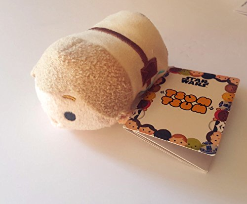 New Disney Store Mini 8.9cm Tsum Tsum Luke Skywalker (Star Wars Collection) (Bösewicht Snow Aus White)