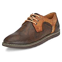 Centrino Men's Coffee Formal Shoes-9 UK/India (43 EU) (1193-01)