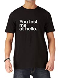Jerry Maguire - You Had Me At Hello T Shirt? - This funny mens tshirt reads 'You Lost Me At Hello by Dead Fresh