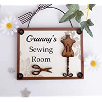 Amazon.it: regalo nonni - Shabby Chic Wood & Wire Co UK / Targhe ...