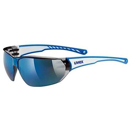 Uvex Unisex Erwachsene Sportsonnenbrille Sportstyle 204 White Blue, One Size