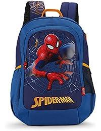 Skybags Sb Marvel Champ 18.9297 Ltrs Blue School Backpack (SBMRC08BLU)