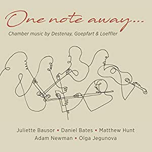 One Note Away [Juliette Bausor; Daniel Bates; Matthew Hunt; Adam Newman; Olga Jegunova] [Stone Records: 5060192780840]