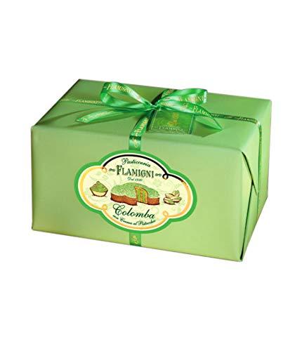 Colomba farcita con crema pasticcera al pistacchio - 950 grammi