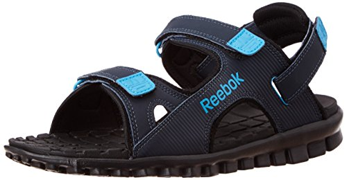 aad4bf717c7fd6 Reebok v66822 Men S City Flex Lp Blue And Black Sandals And Floaters 10 Uk-  Price in India