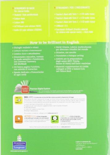 Brilliant! Ediz. pack. Student's book-Workbook-Culture book. Per la Scuola media. Con DVD-ROM. Con espansione online: 2