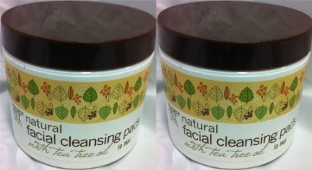 2-pack-trader-joes-spa-natural-facial-cleansing-pads-with-tea-tree-oil-by-trader-joes