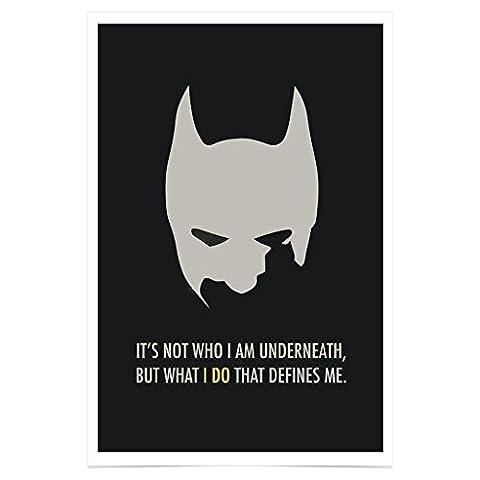 Jim Starks PH217A2 Batman Poster Movie Premium Fotopapier 42 x 61 cm