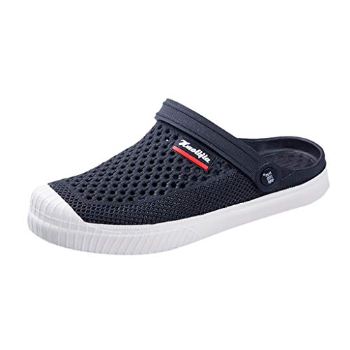 iHAZA Männer Flip Flops Sommer Freizeitschuhe Strand Sandale Mesh Atmungsaktive Schuhe