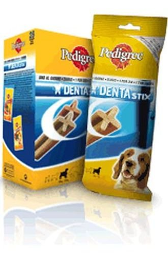 Pedigree Cane Taglia Media, Dentastix Medium 180 Gr Fresh 7 Pezzi