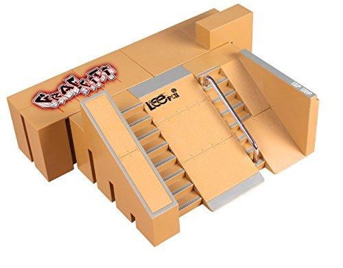 Senoow 5 stücke Tech Deck Leiterplatte Mini Finger Skateboard Griffbretter Ultimative Parks