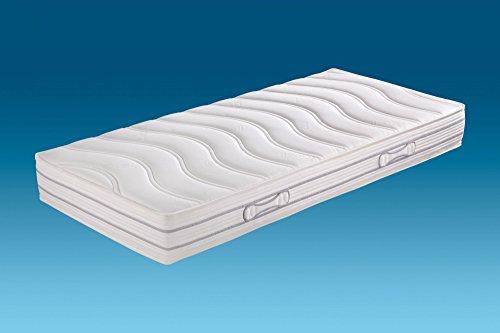 Hn8 Schlafsysteme 'Emotion Pro TFK' 7-Zonen-Tonnen-Taschenfederkern mit ca.1000 Federn, Größe:80 x 210 cm, Härtegrad:H4